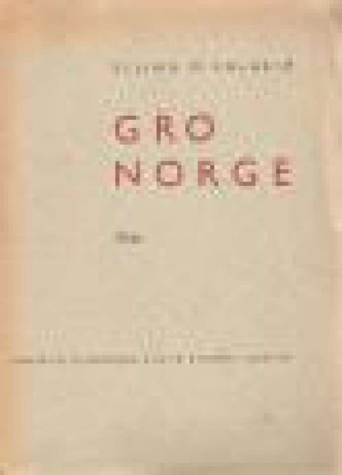 Gro Norge