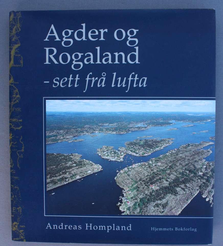 Agder og Rogaland-sett frå lufta