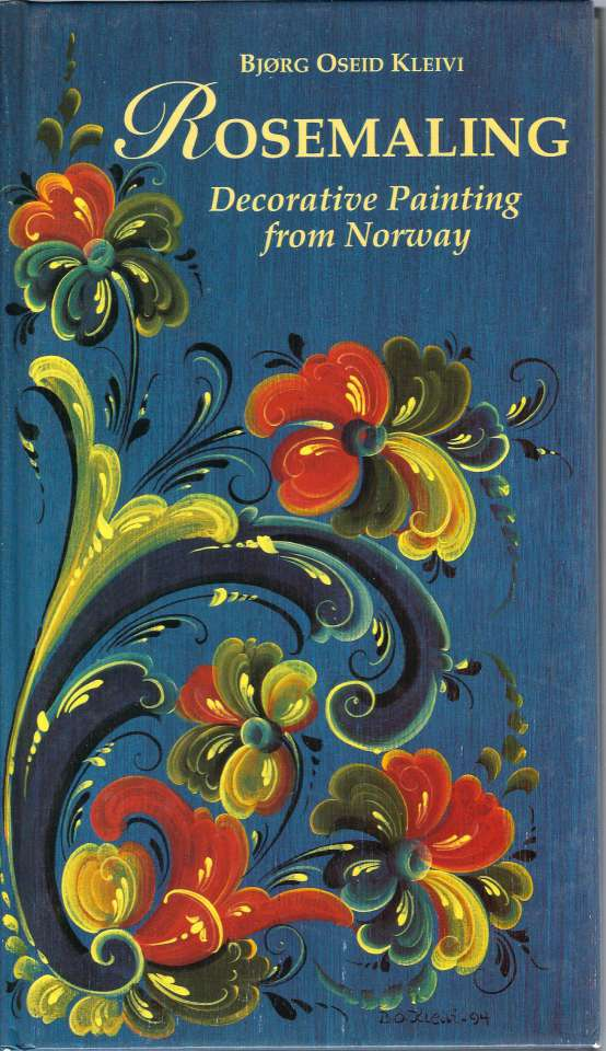 Rosemaling - Decorative Painting from Norway