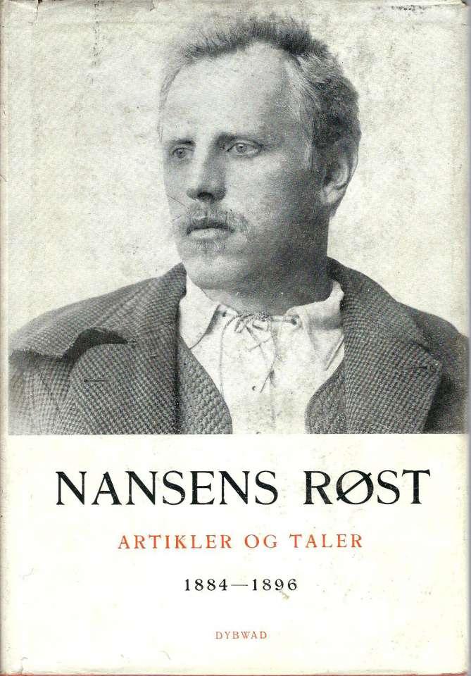 Nansens røst I-III - Artikler og taler av Fridtjof Nansen