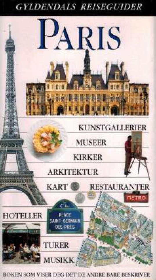 Paris - Gyldendals reiseguider