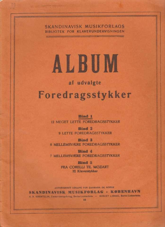 Album af udvalgte Foredragsstykker