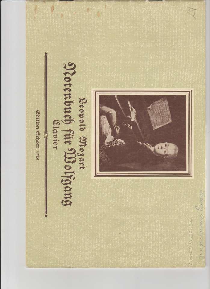 Notenbuch fur Wolfgang