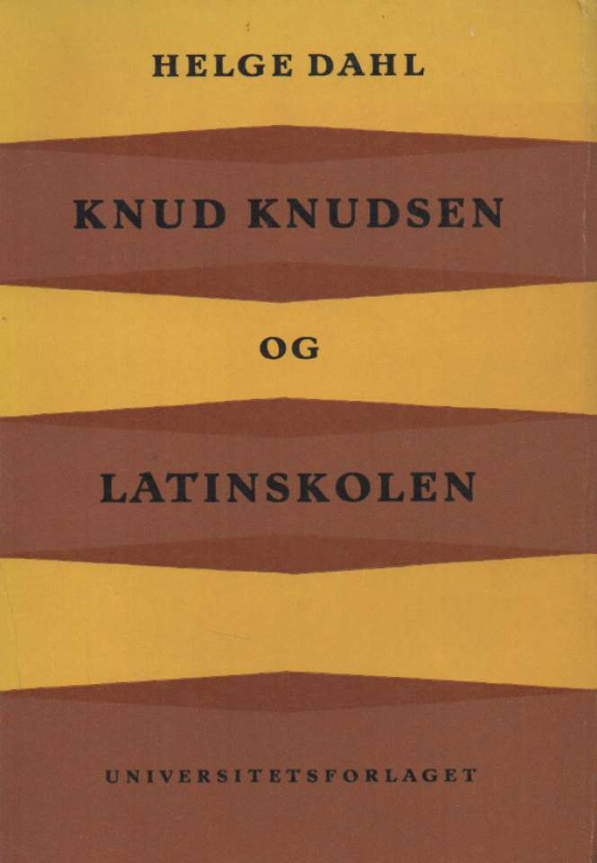 Knud Knudsen og latinskolen