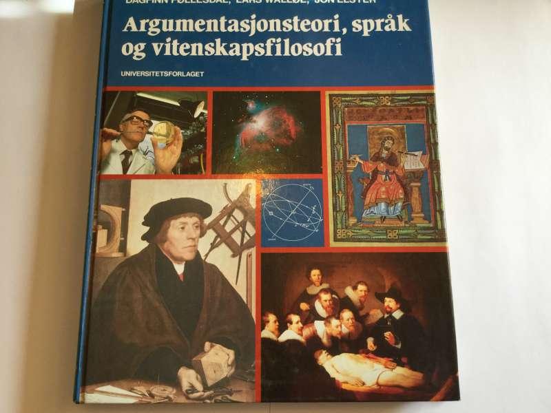 Argumentasjonsteori, språk og vitenskapsfilosofi