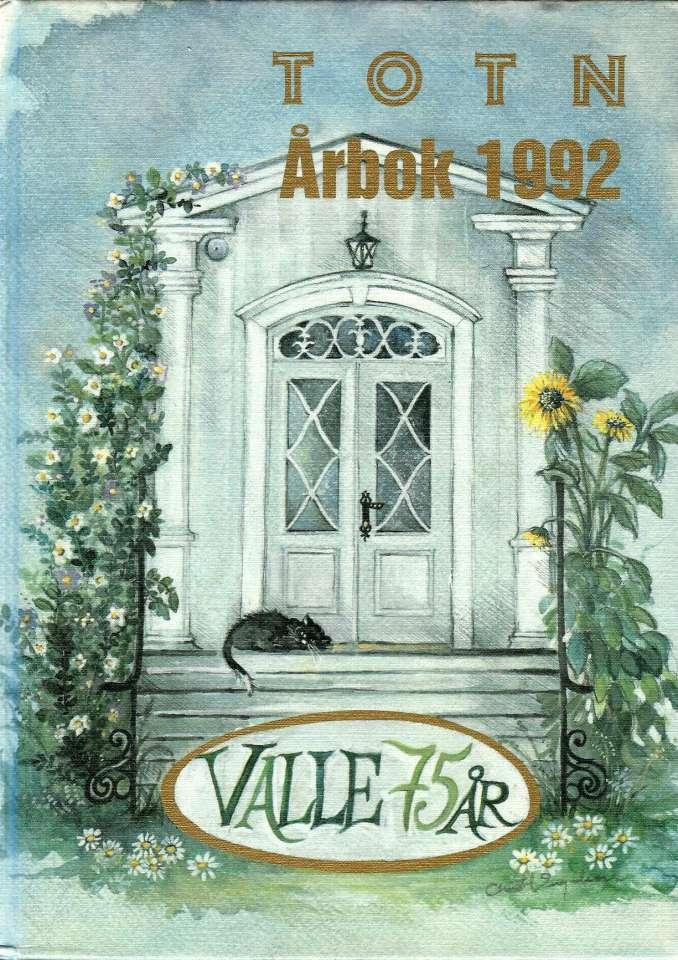 TOTN Årbok 1992 - Årbok for Toten økomuseum og historielag