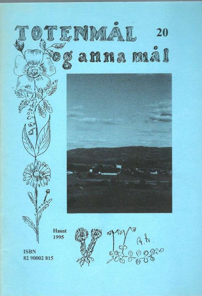 Totenmål og anna mål 20 - Høst 1995