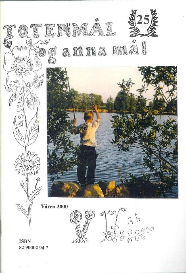 Totenmål og anna mål 25 - Våren 2000