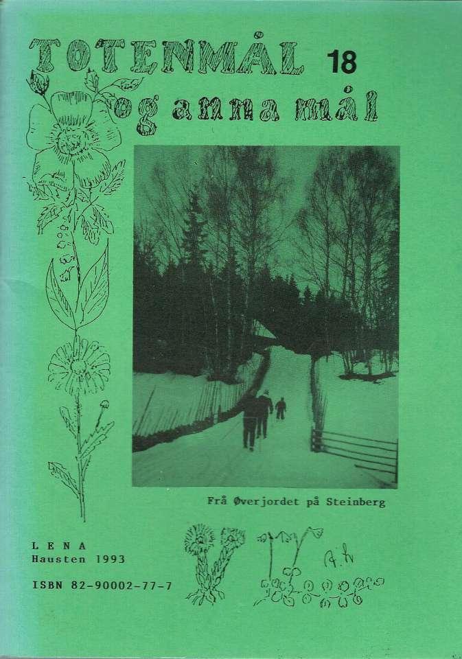 Totenmål og anna mål 18 - Høst 1993