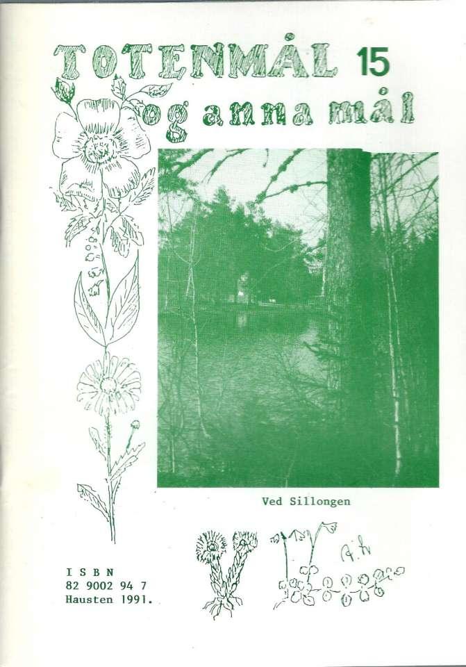 Totenmål og anna mål 15 - Høst 1991