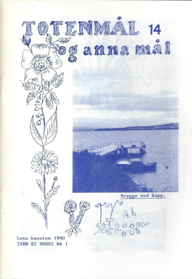 Totenmål og anna mål 14 - Høst 1990