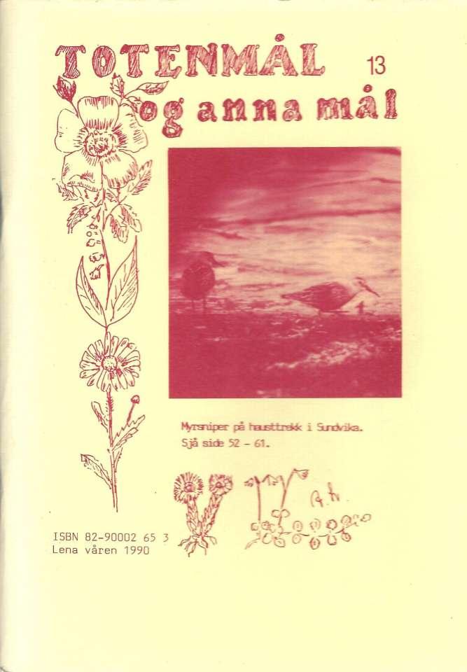 Totenmål og anna mål 13 - Våren 1990