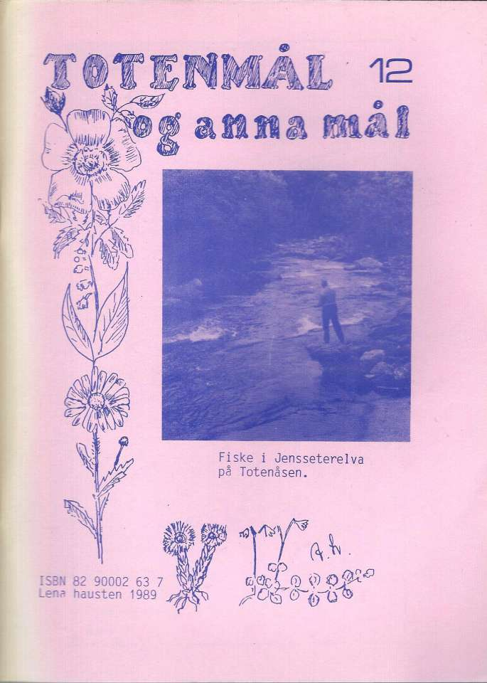 Totenmål og anna mål 12 - Høst 1989