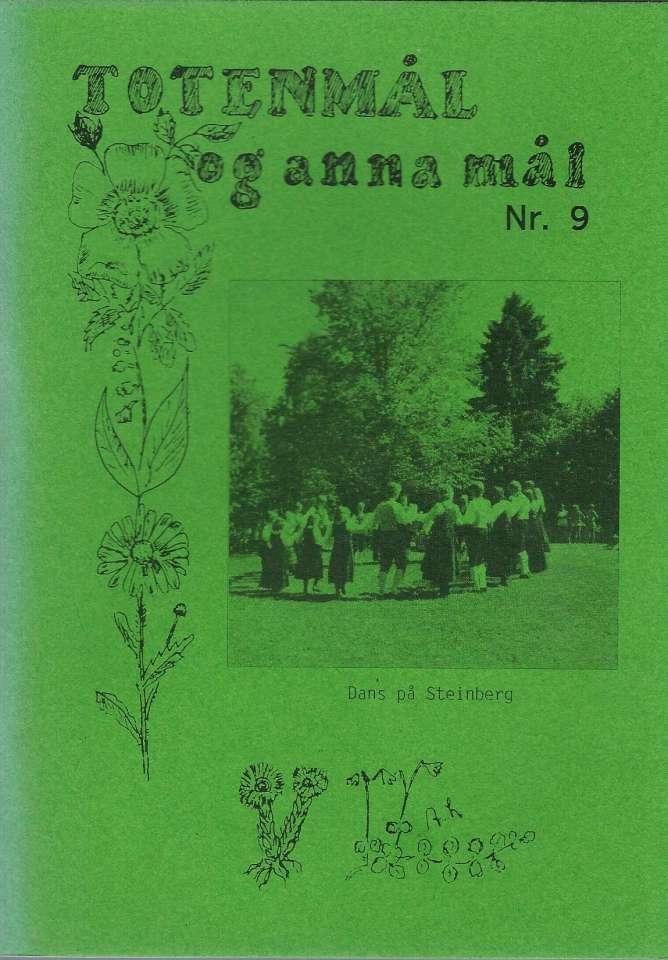 Totenmål og anna mål 9 - Våren 1987