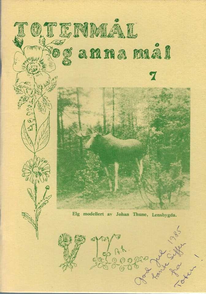 Totenmål og anna mål 7 - Høst 1985