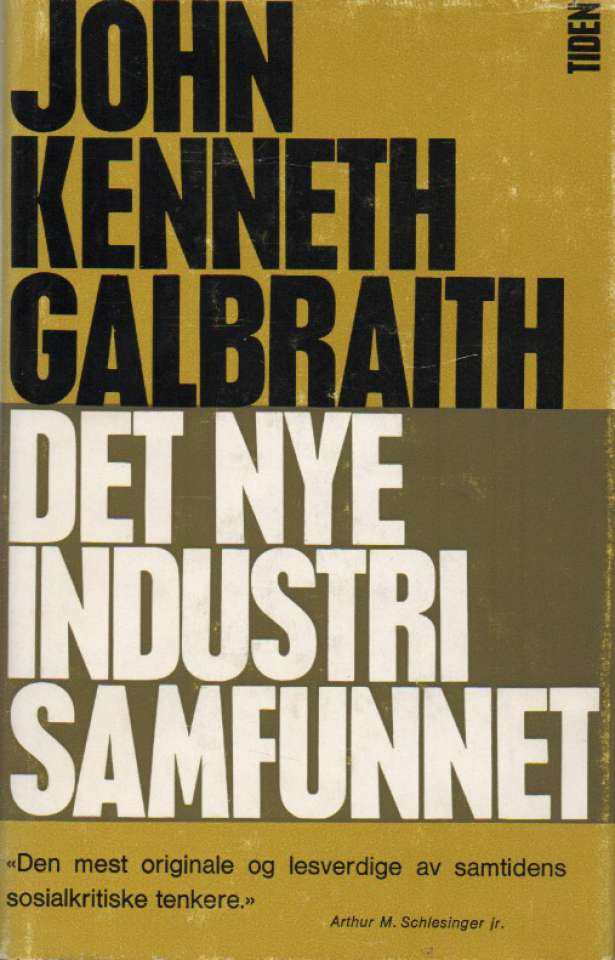 Det nye industrisamfunnet
