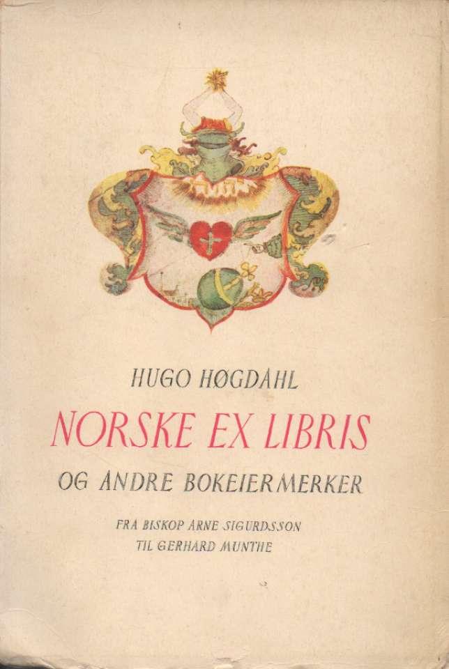 Norske Ex Libris og andre bokeiermerker