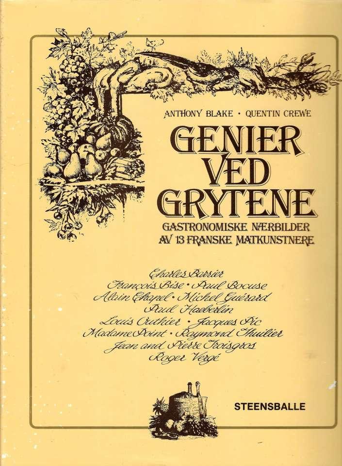 Genier ved grytene - Gastronomiske nærbilder av 13 franske matkunstnere