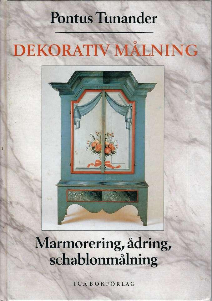 Dekorativ målning - Marmorering, ådring, schablonmålning