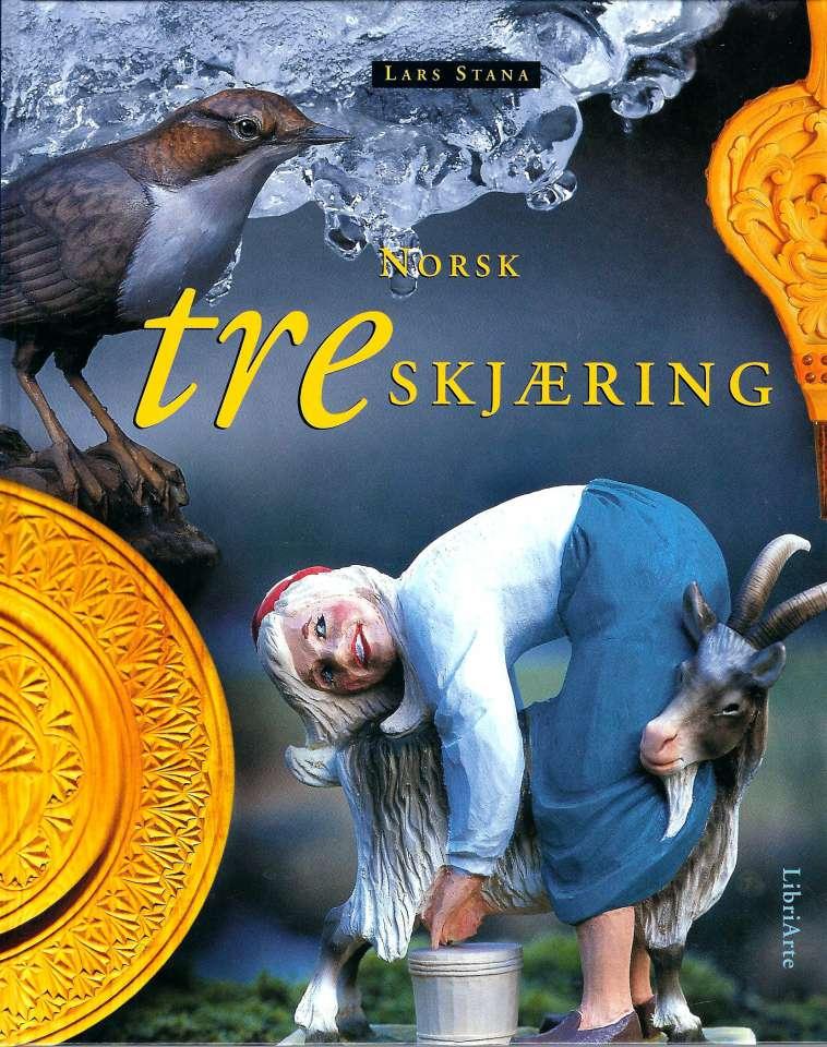 Norsk treskjæring - friske snitt i tre
