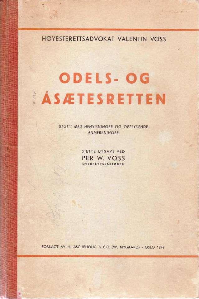 Odels- og åsætesretten