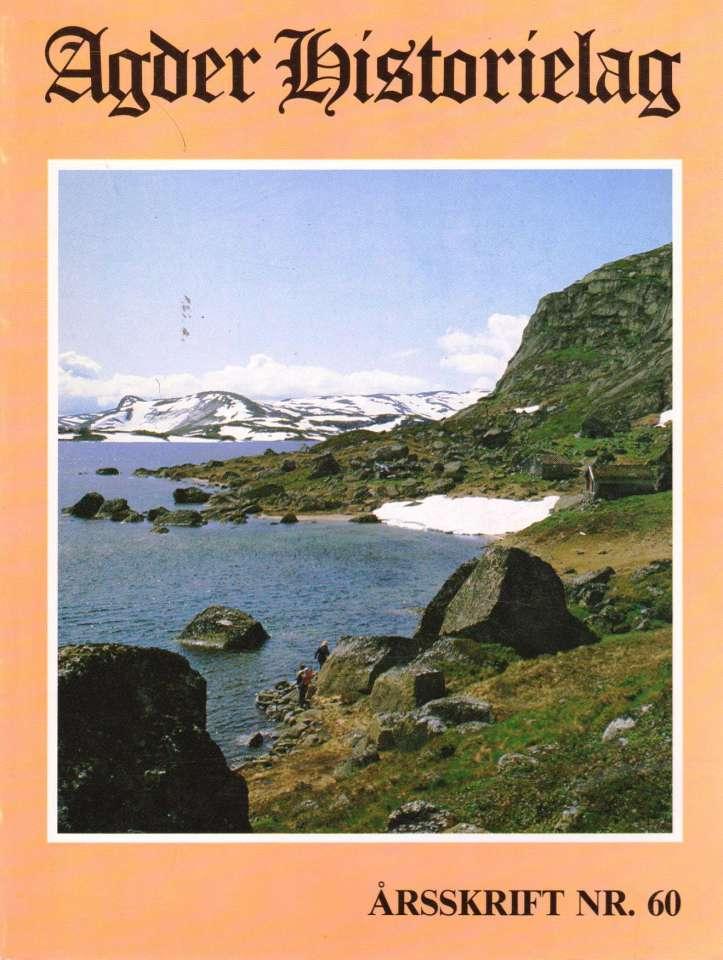 Agder Historielag nr 60