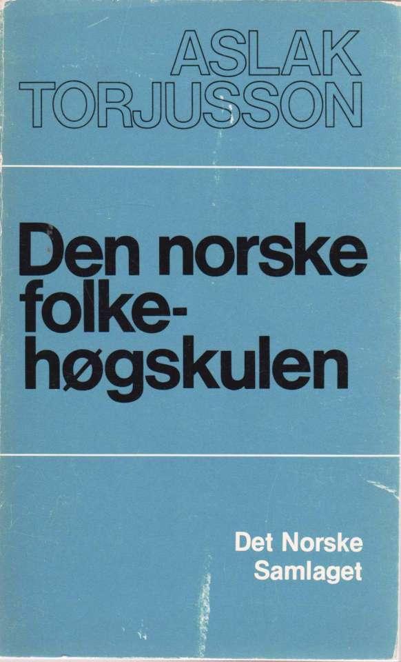 Den norske folkehøgskulen