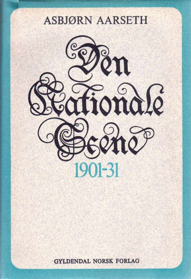 Den Nationale Scene 1901-31