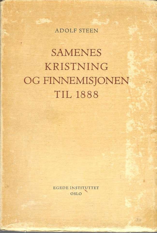 Samenes kristning og Finnemisjonen til 1888