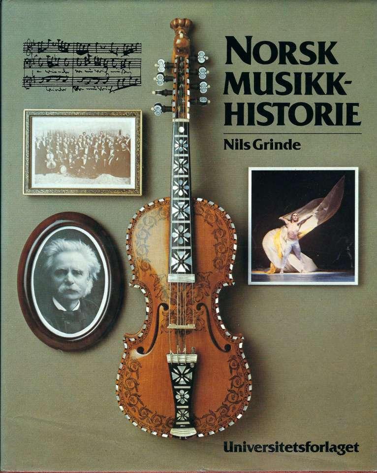 Norsk musikkhistorie - Hovedlinjer i norsk musikkliv gjennom 1000 år