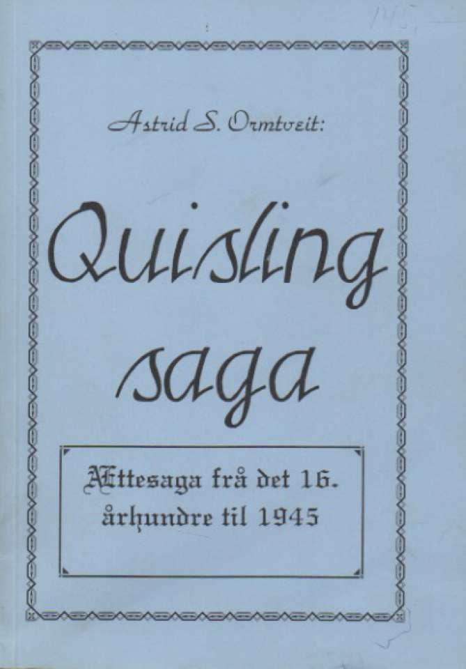 Quisling saga