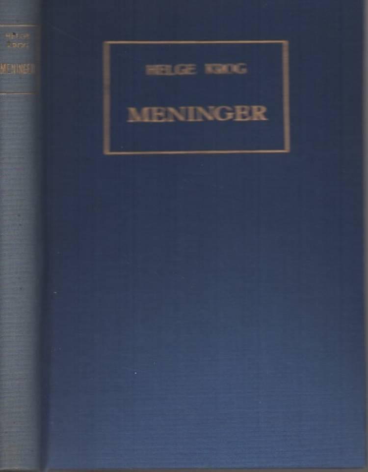 Meninger – om bøker og forfattere