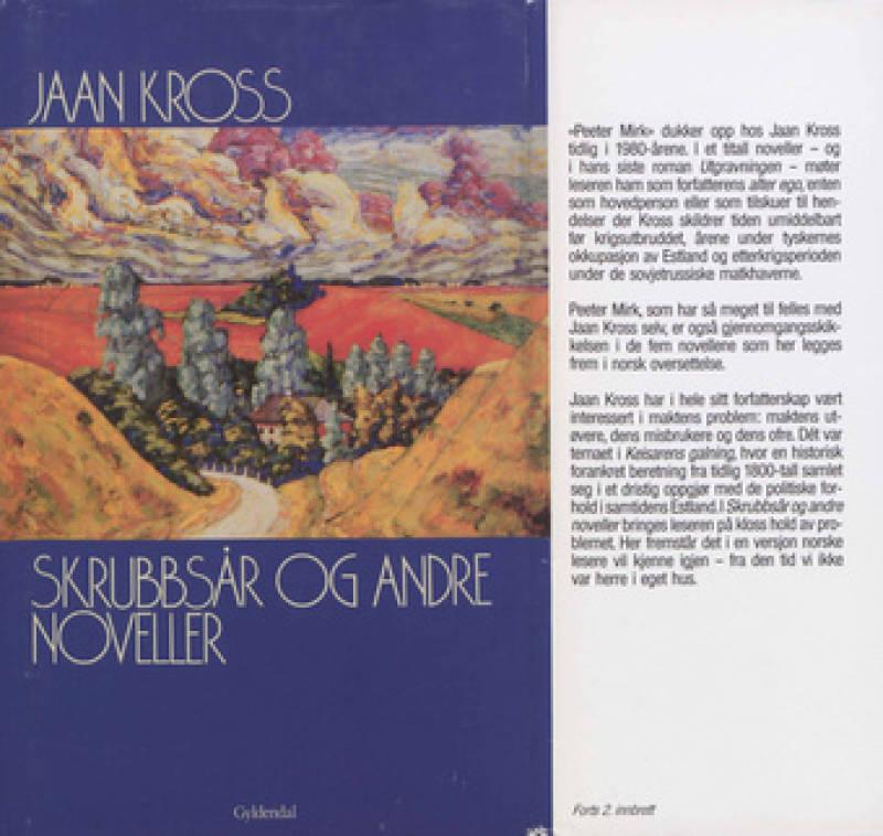 SKRUBBSÅR og andre noveller