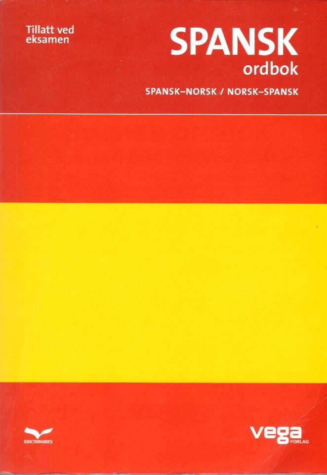 Spansk ordbok: Spansk-Norsk / Norsk-Spansk