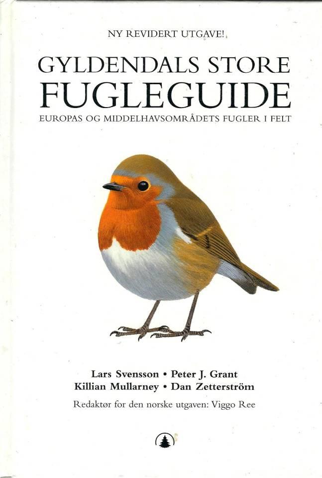 Gyldendals store Fugleguide - Europas og middelhavsområdets fugler i felt