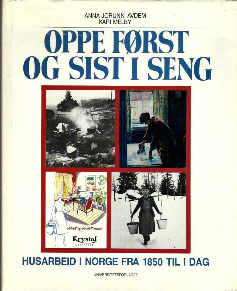 Oppe først og sist i seng - Husarbeid i Norge fra 1850 til i dag