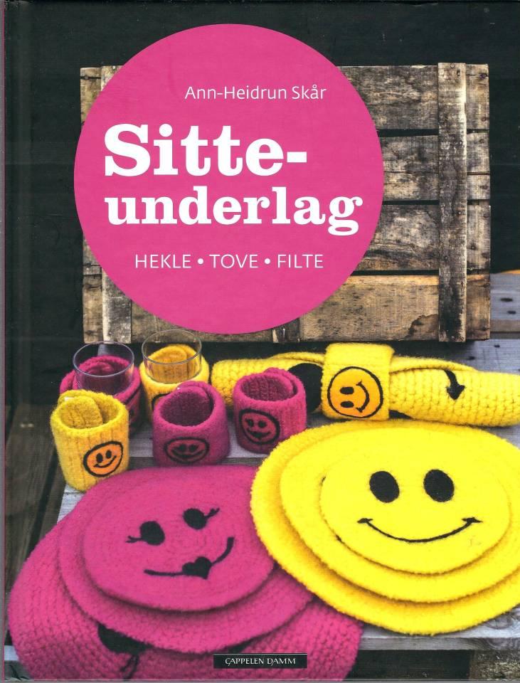 Sitteunderlag - Hekle-Tove-Filte