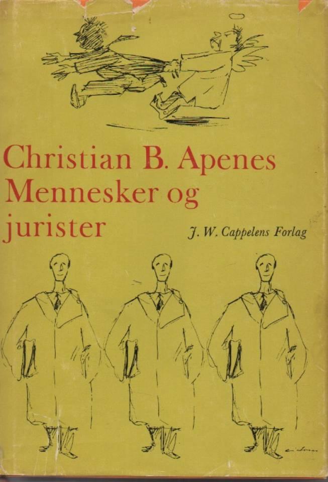 Mennesker og jurister