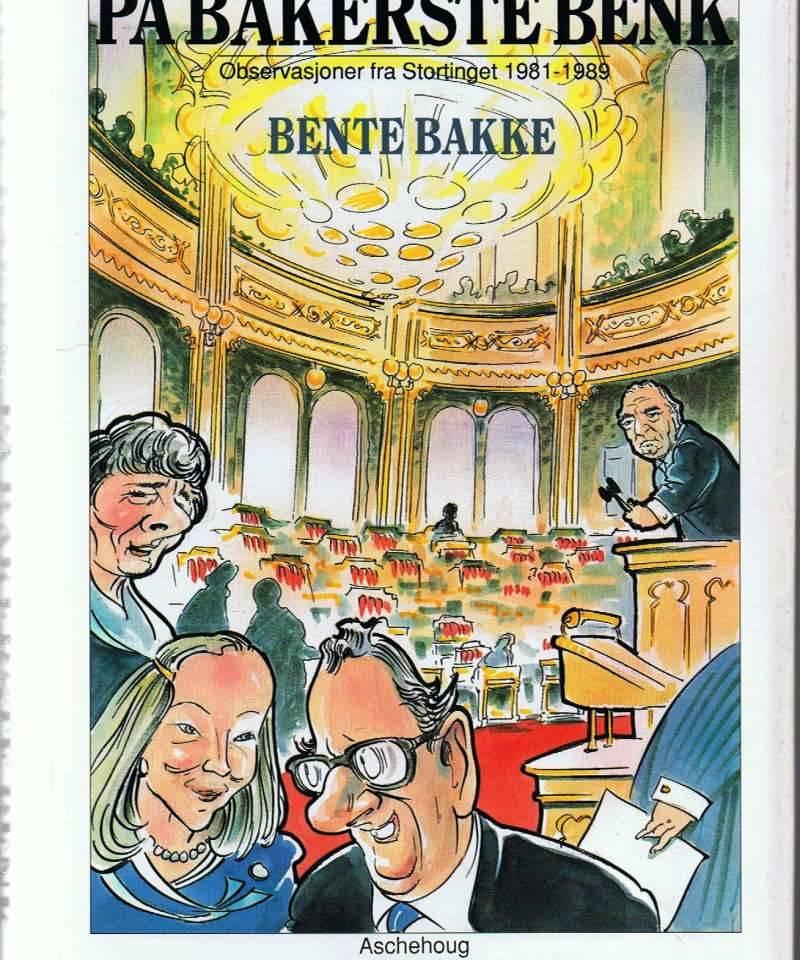 På bakerste benk. Observasjoner fra Stortinget 1981-1989