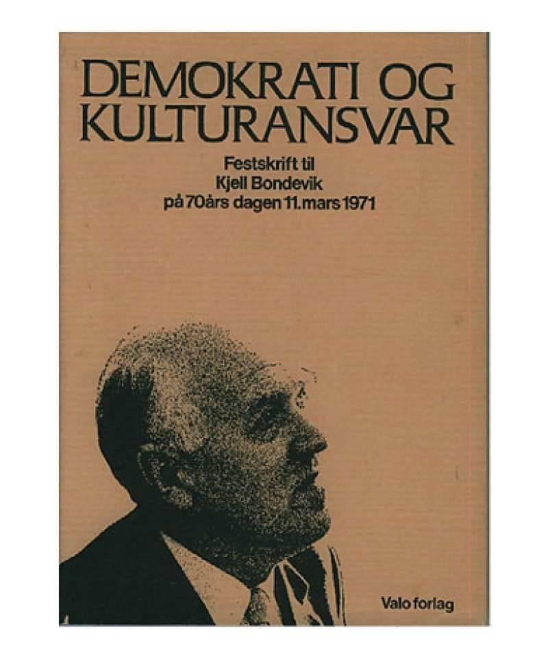 Demokrati og kulturansvar