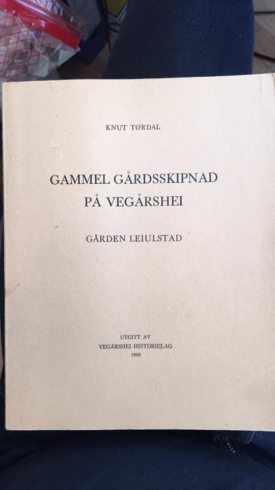 Gammel Gårdsskipnad på Vegårshei