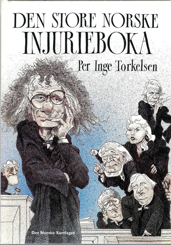 Den store Norske injurieboka - Signert!