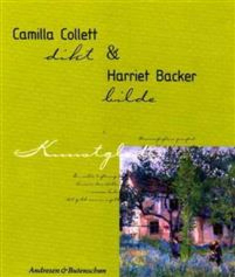 Camilla Collett og Harriet Backer