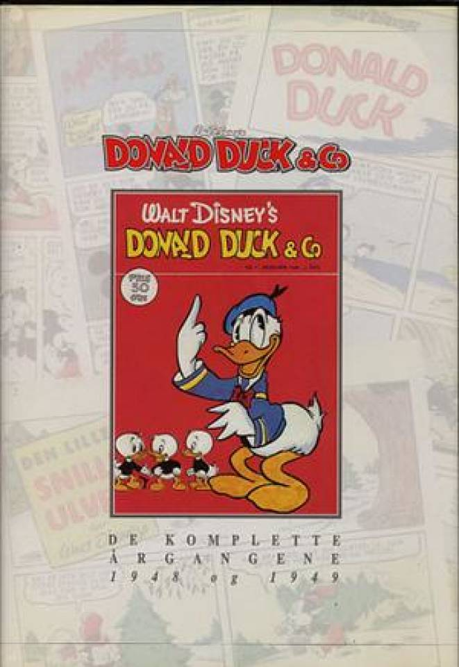 Donalad Duck & Co. De komplette årgangene 1948 og 1949