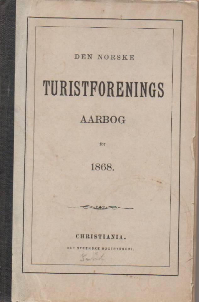 Den norske turistforenings aarbog for 1868