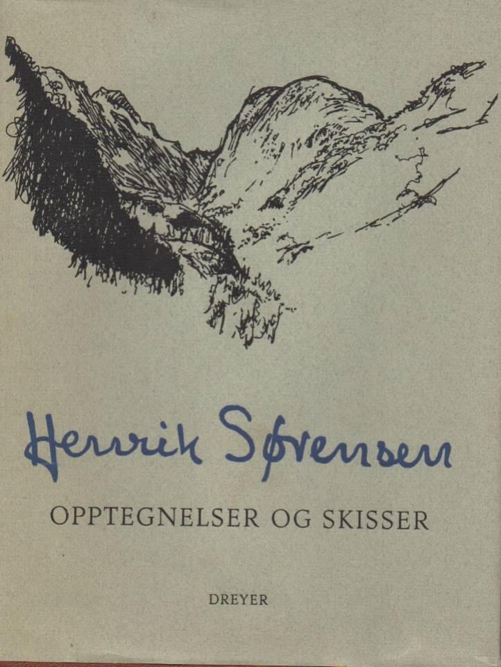 Henrik Sørensen – opptegnelser og skisser