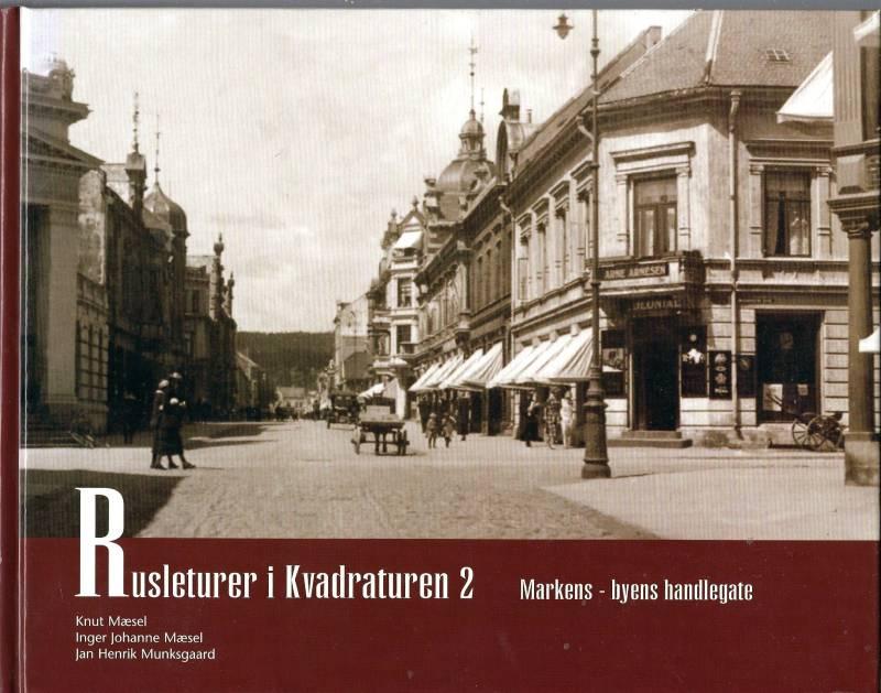 Rusleturer i Kvadraturen 2 - Markens - byens handlegate