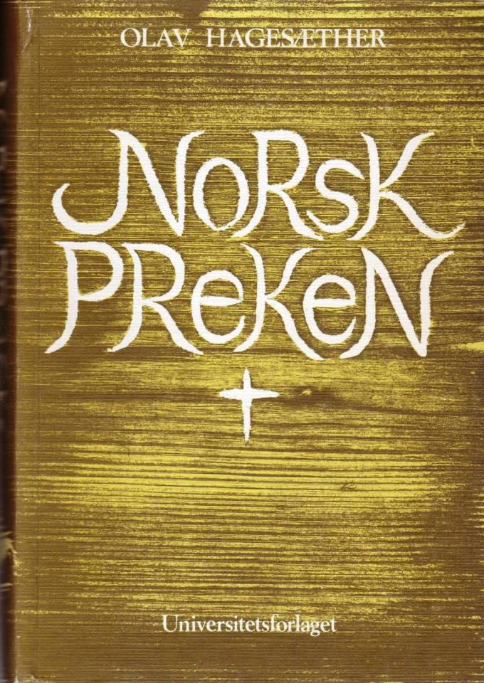 Norsk preken