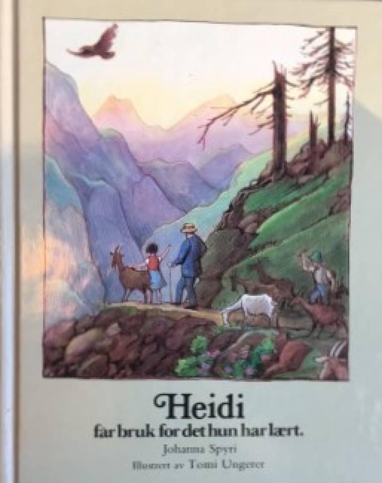 Heidi får bruk for det hun har lært