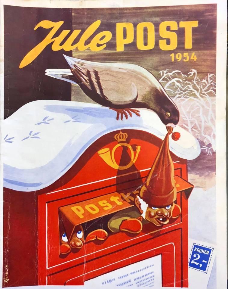 Julespost 1954